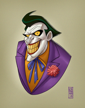 The Joker by CamaraSketch