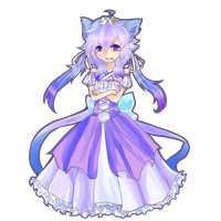 Lil' kitty princess :AUCTION: CLOSED by HokiMaru