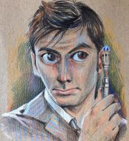 :: The 10th Doctor :: by IvyBeth