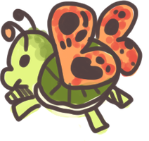 Turtlefly by Magicpawed