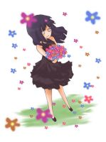 Hinata flowers by CariAguilar