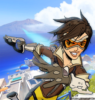 Tracer - Overwatch by DIVISION-6