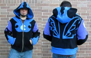 Nightmare Moon Hoodie / Sweatshirt by Lisa-Lou-Who