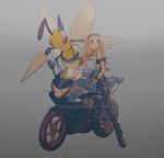 Beedrill x Motorcycle by Yeale