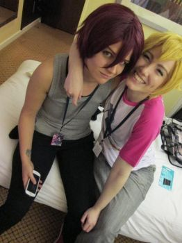 KitaCon 2014 - Free! | Rin and Nagisa by FifiMcFu