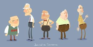 Grandpas by joeldesouza