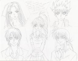 YYH - HSH Cast 2010 Version by diana-jae