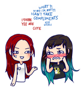 buT YOU AREE by vickiehime