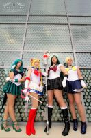 Outer Senshi by NovemberCosplay