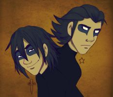 Two Brothers by StressedJenny
