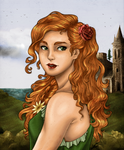 The Flower of Magherally-NikeMV's coloring contest by DameOdessa