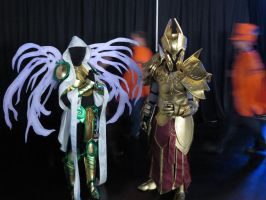 Cosplayers: Auriel and Imperius by LanceOmikron