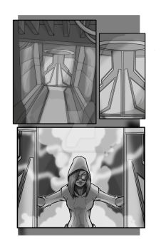 Realmer X #1: Page two by DRWaldbrunn