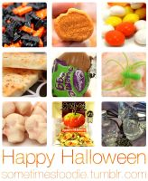 Halloween Foodie Collage - 2012 by chat-noir
