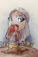 Daenerys with Heart by AgnesGarbowska