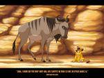 Sympathy from the Wildebeest by hellcorpceo