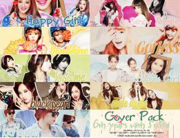Cover Pack - 6th Years Debut with SoShi by Candy-Jinie