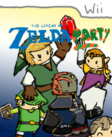 Zelda Party by llama-in-the-hat