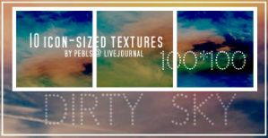 Textures: Dirty Sky by Pebls