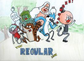 The Regular Show OHHHHHHHH by johnnyism
