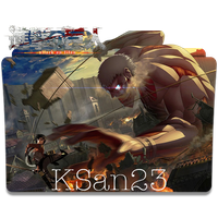 Attack on Titan (Bertolt Hoover titan) Icon by KSan23
