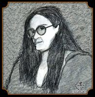 Woman with Glasses 2000 by GothicPrincess1974