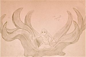 Aang - The Octopus Stance by greenshamrocks