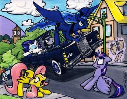 Surf City Equestria by Sketchywolf-13