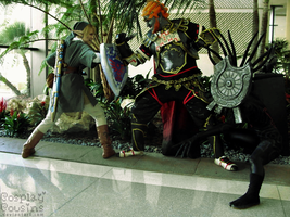Good vs Evil by CosplayCousins