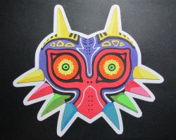 Majoras Mask by Papergizmo