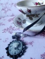 Opulent Cameo Pendant by Megumi-Selwyn