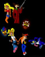 more bandicoot practice by DSA09