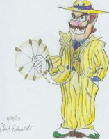Wario in a Zoot Suit by DairyKing