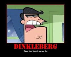 DINKLEBERG by PinkDragon159