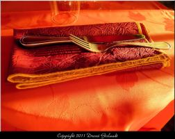 Fourchette et couteau by Gislaadt