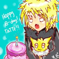 HAPPY B-DAY, TATTE!! by sugarskeleton