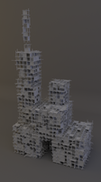 Structure Synth Buildings by pyrohmstr