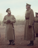 Nicholas II and Grand Duke Nicholas Nikolaevich by KraljAleksandar