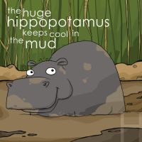 the huge hippo by striffle