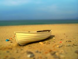 Boat - tilt-shifted by infazz
