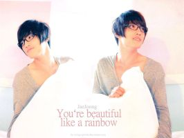 JJ - Beautiful Like a Rainbow by crying-ophelia