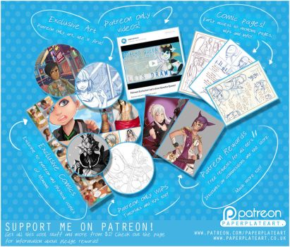 Patreon! by Paper-Plate