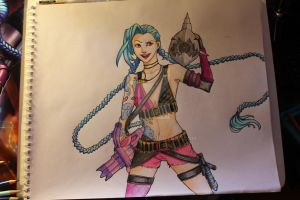 League of Legends: Jinx! The Loose Cannon! by Mikouchan