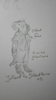 Jutland as horse. The jutland horse xD by Smokorys