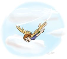 grace flies by Abrr2000