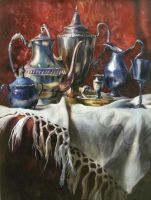 Watercolor_silverware by HOLYSHOLYS