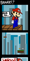 Super Mario: Bravery? by Purple-Neon