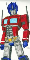 Optimus Prime by DarkPanik