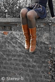 brown boots 9 by stereo-B