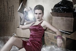 Trashy V by BlackCarrionRose
